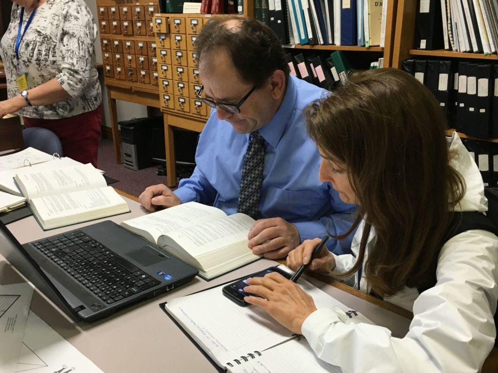 Receiving help in the Genealogy Center